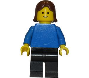 LEGO Woman with Blue Shirt Minifigure