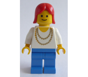 LEGO Woman with Gold Necklace Minifigure
