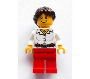 LEGO Woman with necklace (safari set) Minifigure