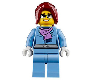 LEGO Woman with scarf Minifigure