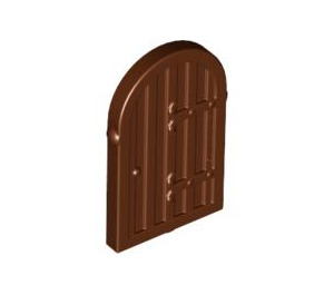 LEGO Wood Door with hinges for 30044 (94161)
