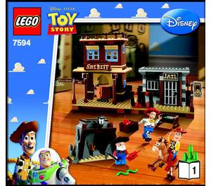 LEGO Woody's Roundup! Set 7594 Instructions