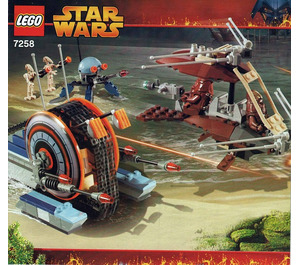 LEGO Wookiee Attack Set 7258