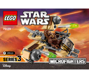 LEGO Wookiee Gunship Microfighter Set 75129 Instructions