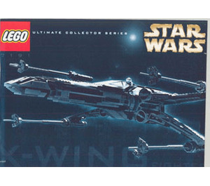LEGO X-wing Fighter Set 7191 Instructions