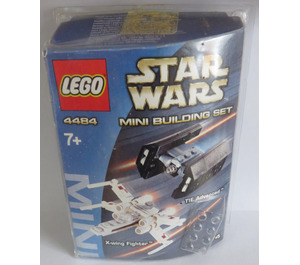 LEGO X-Wing Fighter & TIE Advanced Set 4484 Packaging