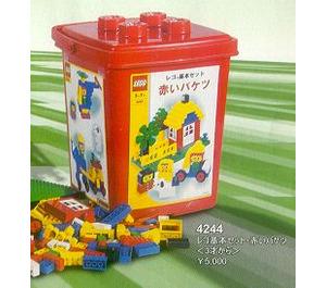 LEGO XL Bucket Red Set 4244