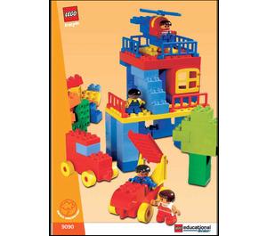 LEGO XL Duplo Bulk Set 9090 Instructions