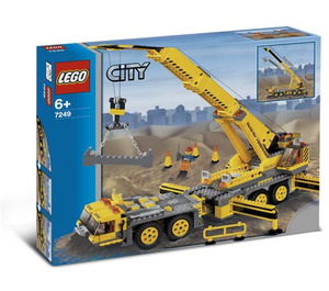LEGO XXL Mobile Crane Set 7249 Packaging