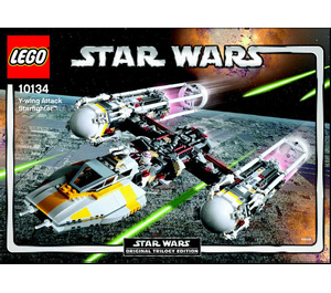 LEGO Y-wing Attack Starfighter Set 10134 Instructions