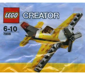LEGO Yellow Airplane Set 7808