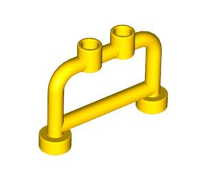 LEGO Yellow Bar 1 x 4 x 2 with Studs (4083)