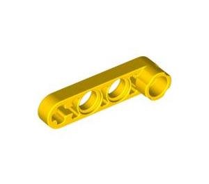 LEGO Yellow Beam 1 x 4 x 0.5 with Knob (2825 / 32006)
