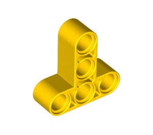 LEGO Yellow Beam 3 x 3 T-Shaped (60484)