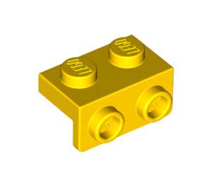 LEGO Yellow Bracket 1 x 2 - 1 x 2 (99781)