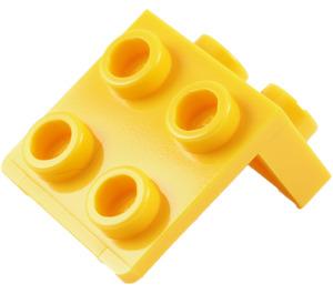 LEGO Yellow Bracket 1 x 2 - 2 x 2 (21712 / 44728)