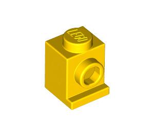 LEGO Yellow Brick 1 x 1 with Headlight and No Slot (4070)