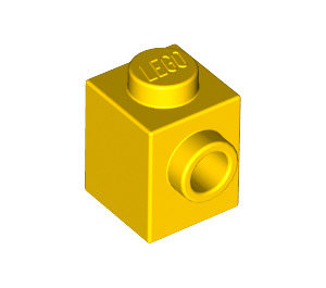 LEGO Yellow Brick 1 x 1 with Stud on 1 Side (87087)