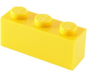 LEGO Yellow Brick 1 x 3 (3622)
