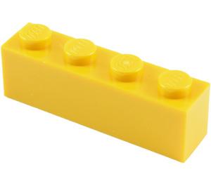 LEGO Yellow Brick 1 x 4 (3010)