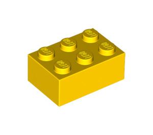 LEGO Yellow Brick 2 x 3 (3002)