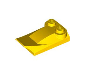 LEGO Yellow Brick 2 x 3 x 0.6 with Wing (47456)