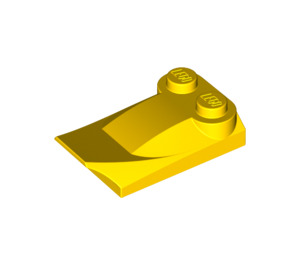 LEGO Yellow Brick 2 x 3 x 2/3 with Two Studs and Wing (47456)