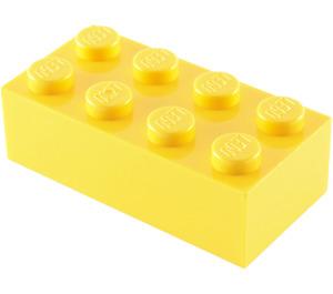 LEGO Yellow Brick 2 x 4 (3001)