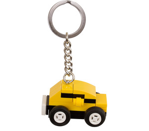 LEGO Yellow Car Bag Charm (853573)
