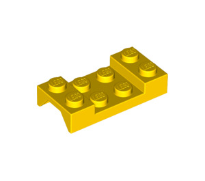 LEGO Yellow Car Mudguard 2 x 4 without Hole (3788)
