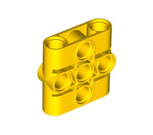 LEGO Yellow Connector Beam 1 x 3 x 3 (39793)