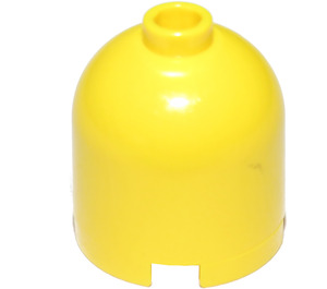 LEGO Yellow Cylinder 2 x 2 x 1 & 2/3 with Dome Top and Safety Stud (30151)