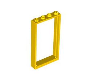LEGO Yellow Door Frame 1 x 4 x 6 Single Sided (40289 / 60596)