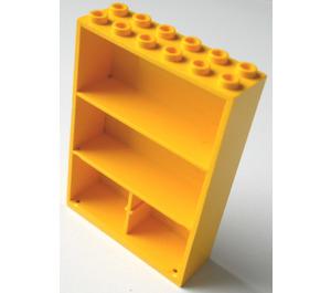 LEGO Yellow Fabuland Cupboard 2 x 6 x 7