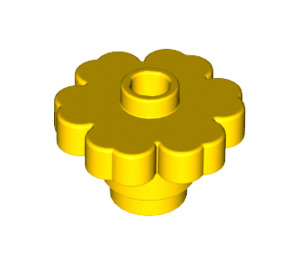 LEGO Yellow Flower 2 x 2 with Open Stud (4728)