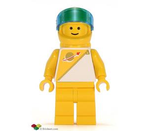LEGO Yellow Futuron Minifigure