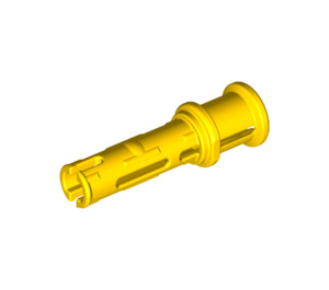 LEGO Yellow Long Pin with Friction and Bushing (32054)
