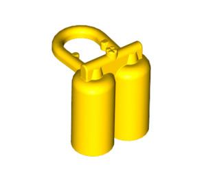 LEGO Yellow Minifig Air Tanks (3838 / 90226)