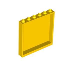 LEGO Yellow Panel 1 x 6 x 5 (59349)