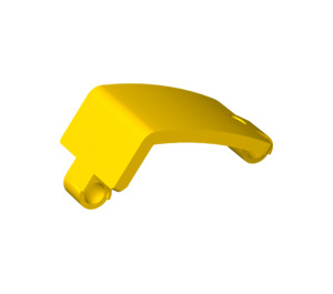 LEGO Yellow Panel Curved 3 x 6 x 3 (24116)