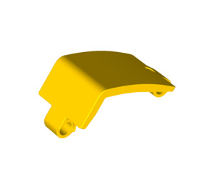 LEGO Yellow Panel Curved 3 x 6 x 3 (24116 / 35396)