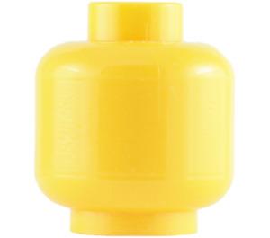 LEGO Yellow Plain Head (Safety Stud) (3626 / 88475)