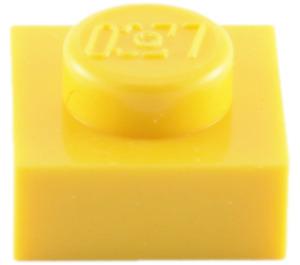 LEGO Yellow Plate 1 x 1 (3024)