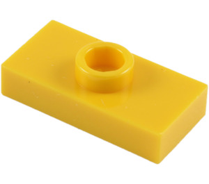 LEGO Plate 1 x 2 with 1 Stud (without Bottom Groove) (3794)
