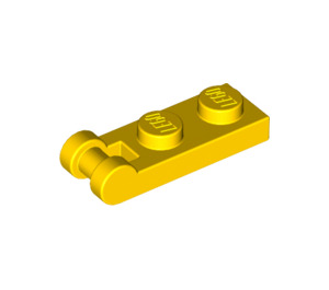 LEGO Yellow Plate 1 x 2 with Handle (Closed Ends) (60478)