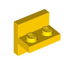 LEGO Yellow Plate 1 x 2 with Vert. Tube (41682)