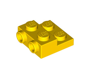 LEGO Yellow Plate 2 x 2 x 2/3 with 2 Studs on Side (99206)