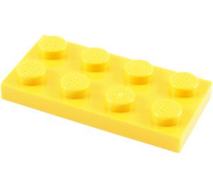 LEGO Yellow Plate 2 x 4 (3020)