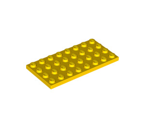 LEGO Yellow Plate 4 x 8 (3035)