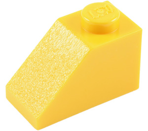 LEGO Yellow Slope 1 x 2 (45°) (3040)